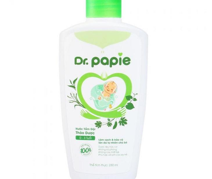 Dầu gội trị viêm da tiết bã trẻ sơ sinh hiệu Dr.Papie