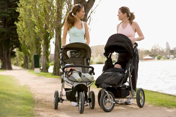 Đi bộ mỗi ngày giúp các bà mẹ có thân hình đẹp hơn