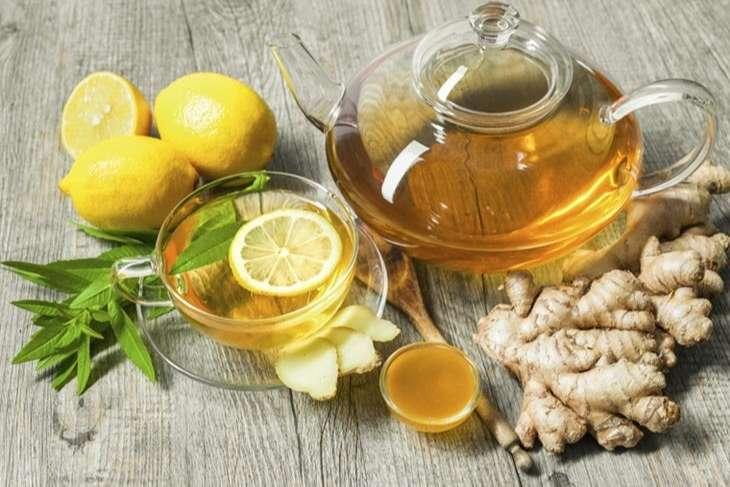 Uống trà gừng cũng là cách cải thiện tình trạng ợ hơi hiệu quả