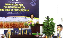 Hội thảo Đánh giá công nghệ và chất lượng nuôi cấy ĐTHT tại Việt Nam diễn ra thành công tốt đẹp với nhà tài trợ vàng Vietfarm