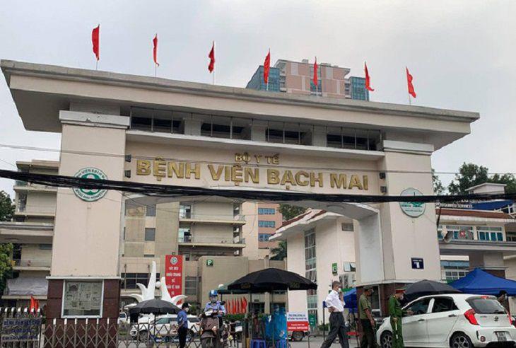 Bệnh viện Bạch Mai là một trong những cơ sở khám chữa bệnh uy tín tại Hà Nội