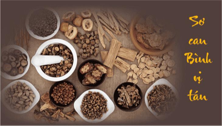 Sơ can Bình vị tán với 3 chế phẩm có thể khắc phục tình trạng ợ hơi đau bụng hiệu quả