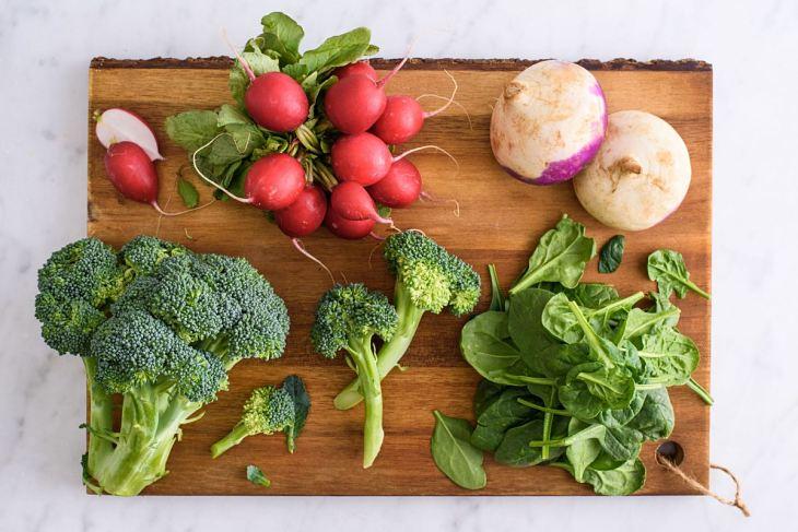 Bệnh nhân nên ăn nhiều rau xanh, trái cây để phòng ngừa bệnh