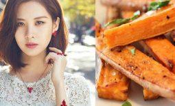 Thực đơn giảm cân của sao Hàn