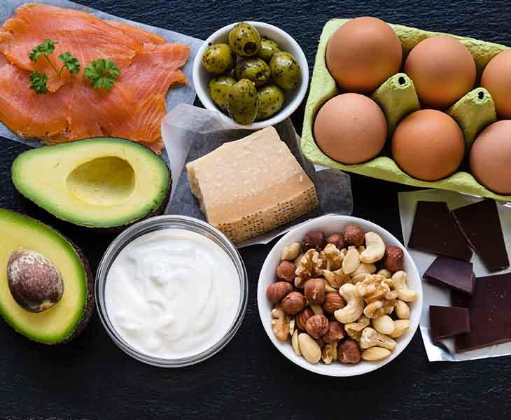 Các loại thực phẩm nên sử dụng trong chế độ ăn KETO