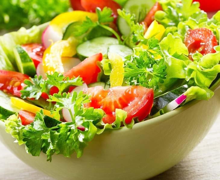 Xây dựng thực đơn giảm cân trong 10 ngày cần bổ sung rau xanh và củ quả