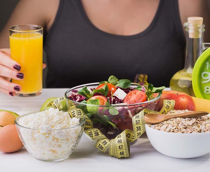 Điều chỉnh chế độ ăn cần căn cứ vào thể trạng của từng đối tượng