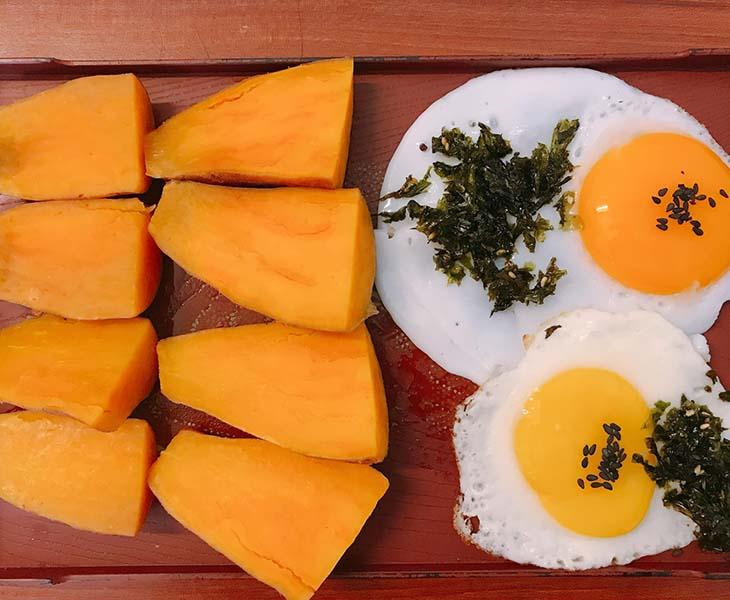 Giảm cân bằng cách kết hợp trứng và khoai lang được nhiều người sử dụng