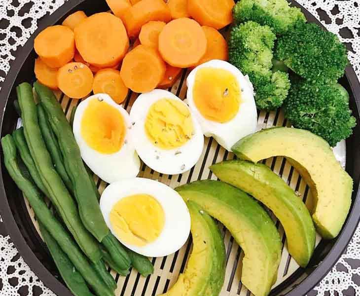 Bệnh nhân bị cao huyết áp không nên giảm cân với trứng