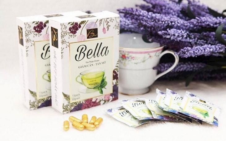Trà thảo dược Bella đánh tan mỡ bụng, giảm cân hiệu quả
