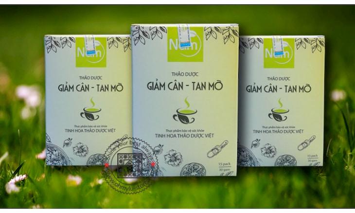 Trà thảo dược Nấm có tác dụng giảm cân - tan mỡ