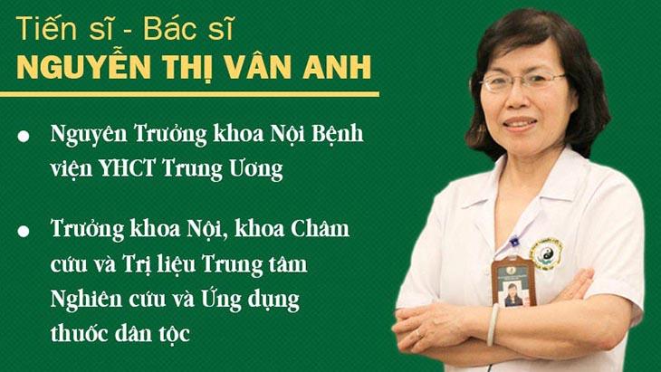 Bác sĩ Nguyễn Thị Vân Anh có nhiều năm nghiên cứu và chữa bệnh