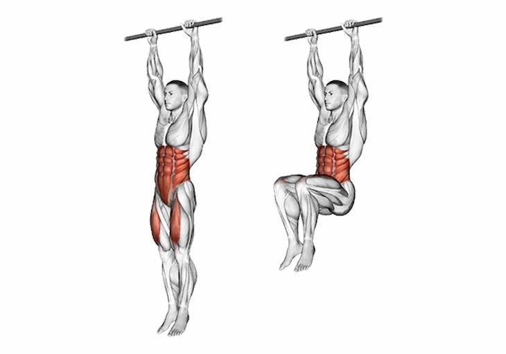Hanging Leg Raise không chỉ giảm mỡ, tăng cơ bụng dưới mà còn cải thiện sức bền rất tốt