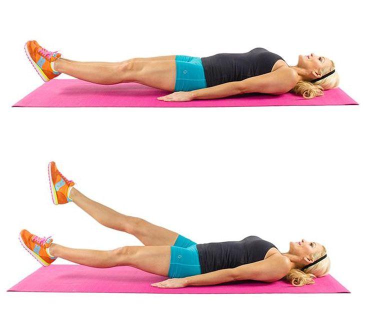 Bắt chéo chân giúp giảm mỡ bụng dưới và săn chắc cơ đùi