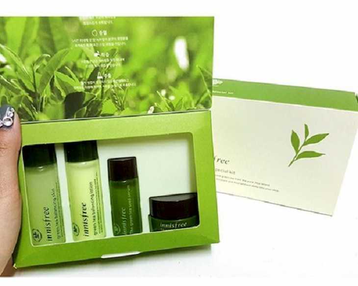 Bộ mỹ phẩm Hydration Skincare Set with Green Tea