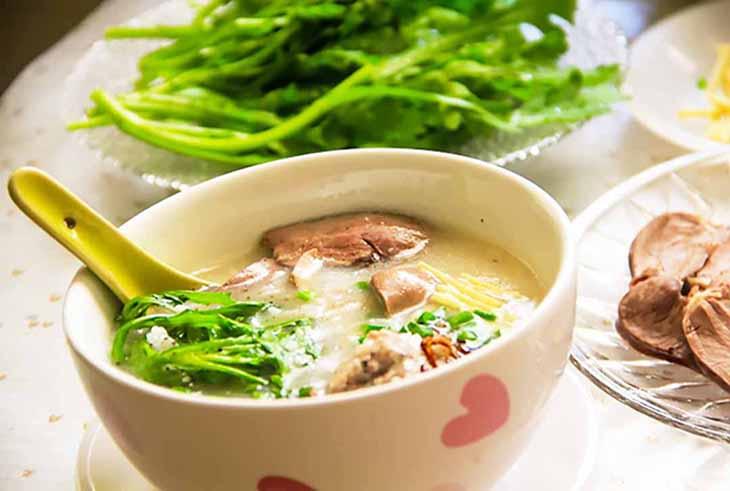 Rau tần ô nấu nhiều món ăn bổ dưỡng