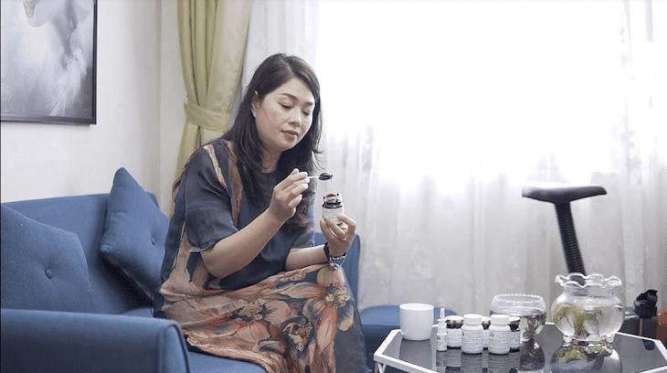 Sau quá trình sử dụng, thuốc giúp DV Thanh Tú cảm thấy khỏe khoắn hơn nhiều