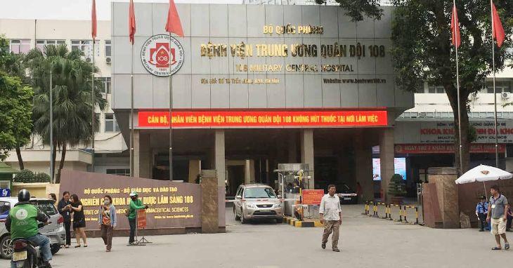 Khám ho ở Khoa Tai Mũi Họng - Bệnh viện Trung ương Quân đội 108