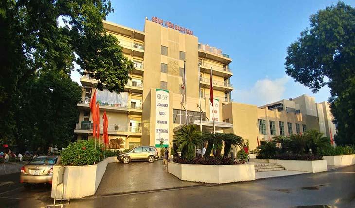 Khoa Tai Mũi Họng bệnh viện Bạch Mai là cơ sở khám ho uy tín ở Hà Nội
