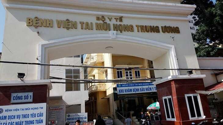 Khám ho ở đâu tốt khu vực Hà Nội phải kể đến Bệnh viện Tai Mũi Họng Trung ương