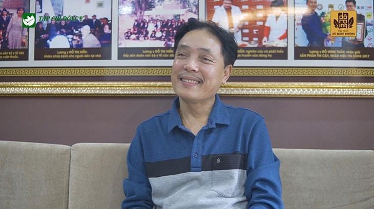 NSUT Minh Tuấn tới nhà thuốc Đỗ Minh Đường tái khám bệnh suy giảm sinh lý tuổi 50