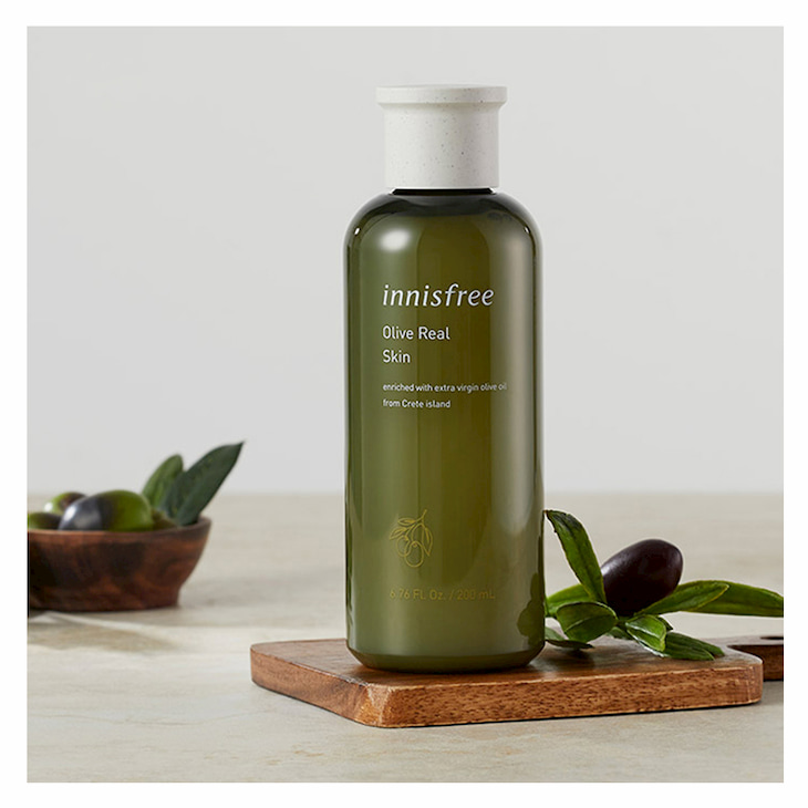 Dưỡng ẩm sâu với Innisfree Olive Real Skin