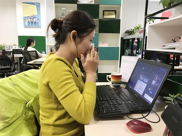 Viêm xoang ảnh hưởng tới hiệu suất lao động và sinh hoạt hàng ngày