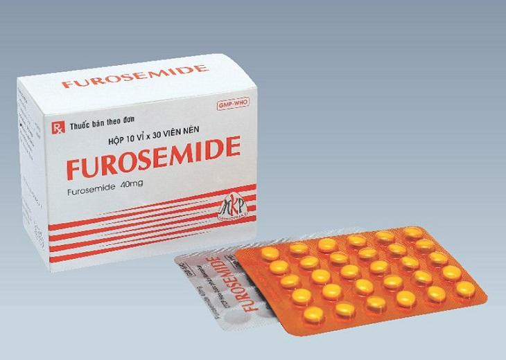 Thuốc lợi tiểu là một trong những nhóm thuốc trị thận yếu phổ biến