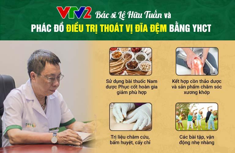 Bác sĩ Lê Hữu Tuấn và phác đồ điều trị thoát vị đĩa đệm từ YHCT