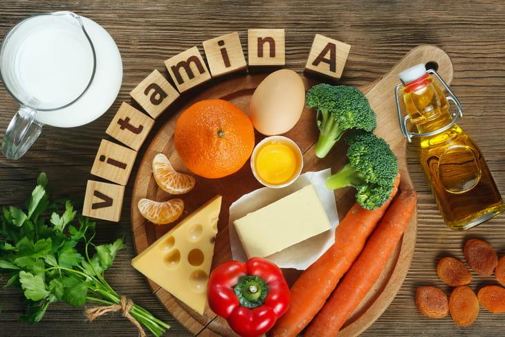 Thực phẩm giàu vitamin A tốt cho da khô mụn
