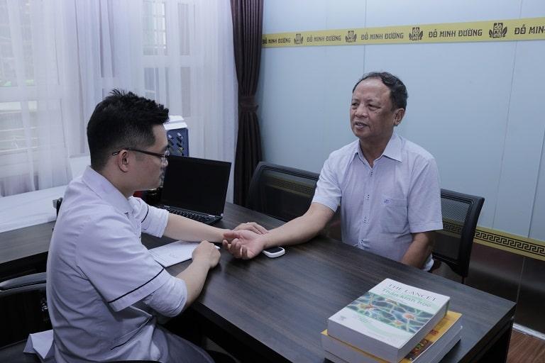 Bệnh nhân điều trị Gout tại Đỗ Minh Đường