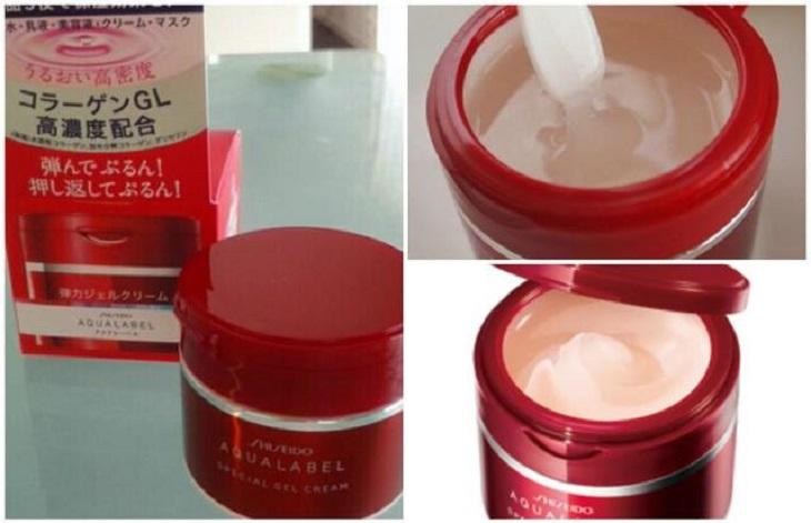 Kem dưỡng ẩm tốt cho da khô Shiseido Aqualabel Gel Cream được nhiều chị em ưa chuộng và đánh giá cao bởi công thức 5 trong 1