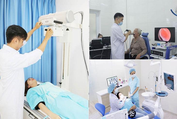 Ứng dụng YHHĐ tại bệnh viện Tai Mũi Họng Quân dân 102