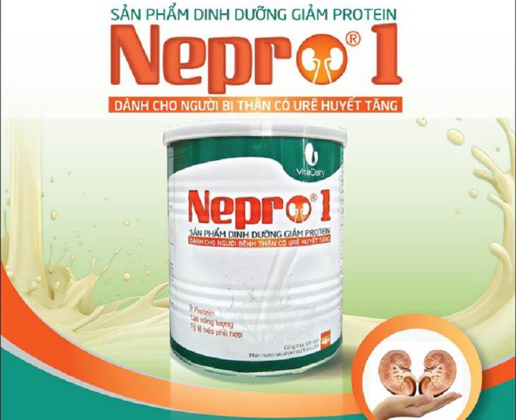 Sữa Nepro 1 là loại sữa được công ty Cổ phần sữa Sức Sống Việt Nam sản xuất và phân phối dành riêng cho người suy thận