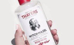 Toner dùng cho da khô Thayers Alcohol-Free Rose Petal Witch Hazel Toner
