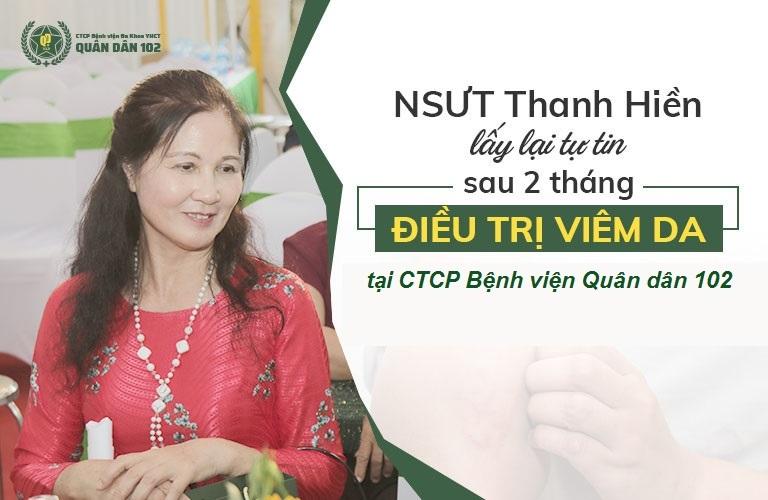 NSUT Thanh Hiền điều trị viêm da thành công nhờ bài thuốc Quân dân 102