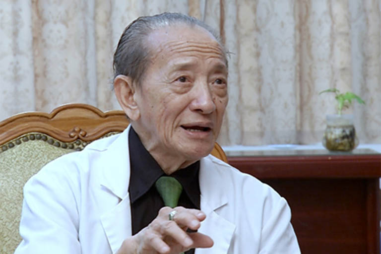 Chân dung Giáo sư Nguyễn Tài Thu