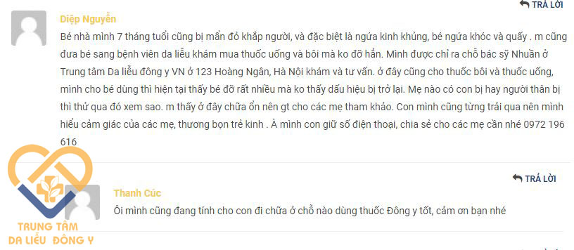 An Bì Thang được kiểm chứng hiệu quả trên trẻ nhỏ