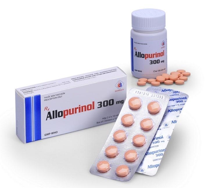 Thuốc điều trị Allopurinol là thuốc đặc trị, sử dụng phổ biến cho người bị gout mãn tính