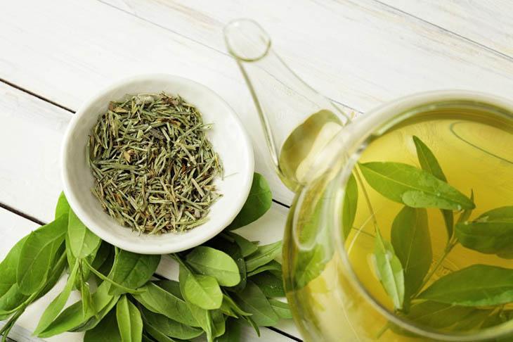 Trà xanh nên được uống vào mỗi buổi sáng để giữ tinh thần sảng khoái