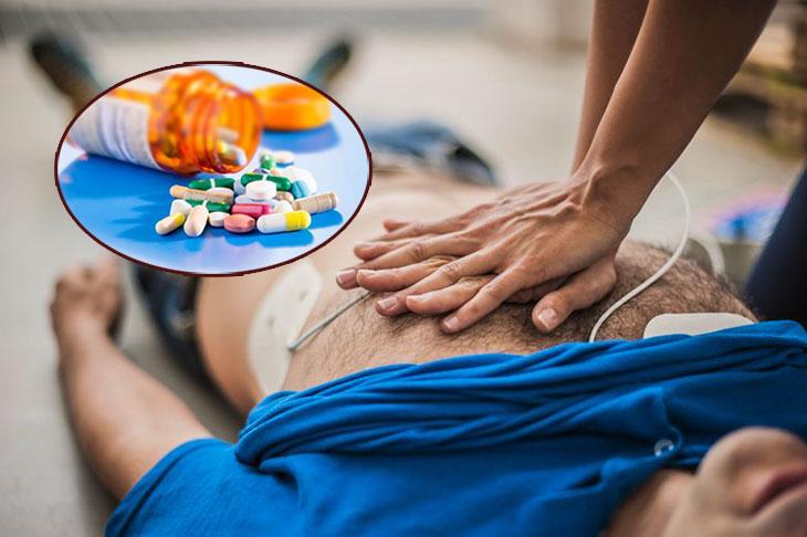 Các loại thuốc ngừng tuần hoàn được tiêm qua tĩnh mạch theo khuyến cáo