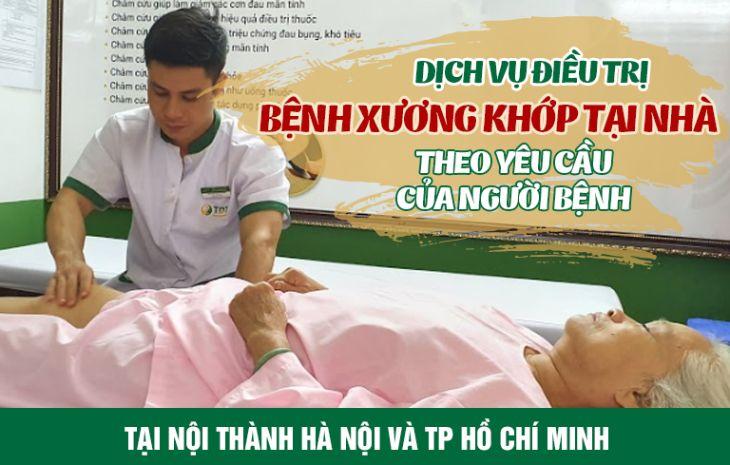 Trung tâm Thuốc dân tộc ứng dụng thành công dịch vụ khám chữa bệnh xương khớp tại nhà theo yêu cầu