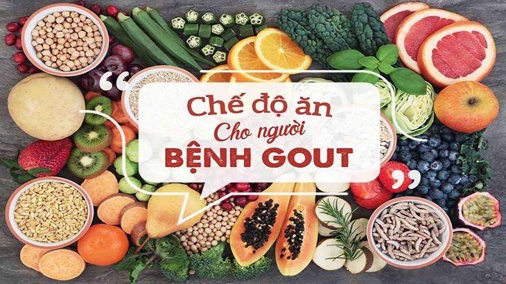 Chế độ dinh dưỡng ảnh hưởng rất nhiều đến quá trình điều trị gout