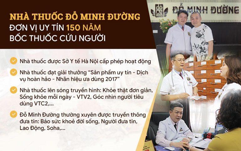 Nhà thuốc Đỗ Minh Đường - Địa chỉ khám chữa uy tín của mọi người