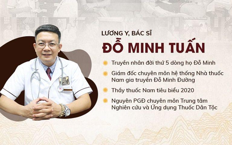 Thông tin lương y Đỗ Minh Tuấn - GĐ chuyên môn nhà thuốc Đỗ Minh Đường