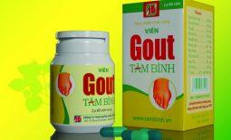 Viên gout Tâm Bình là sản phẩm hỗ trợ giảm các triệu chứng đau đớn do bệnh gout gây ra