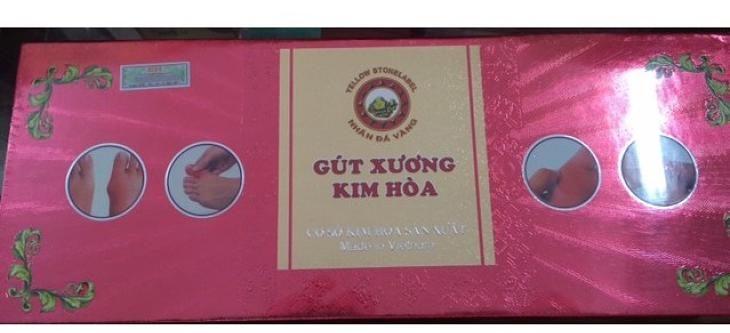 Viên uống Gút Xương Kim Hòa là thực phẩm chức năng điều trị bệnh gout
