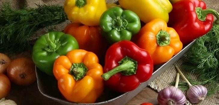 Ớt chuông là loại rau tốt cho người bị suy thận