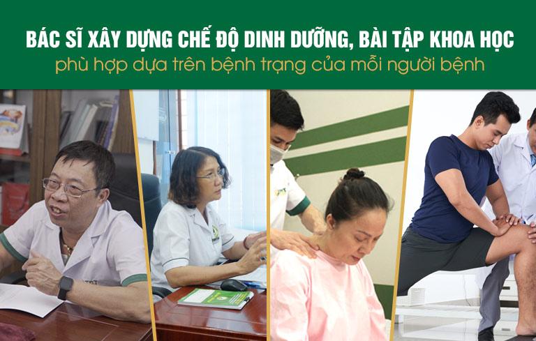Mỗi bệnh nhân sẽ có 1 bác sĩ YHCT đồng hành cho tới khi khỏi bệnh
