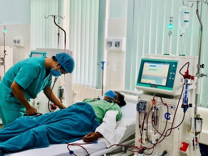 Lọc máu là phương pháp kéo dài sự sống cho người bệnh suy thận
